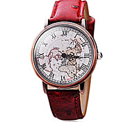 Women's Fashion Vintage Roman Copper Shell Map Watches(Assorted Colors)