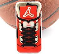 air jordan sneakers caso suave O projeto parte iv TPU para iphone 6s / 6 mais (cores sortidas)