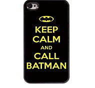 Call Design Aluminum Hard Case for iPhone 4/4S