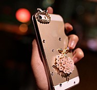 LADY The Ballet Girl  with Diamond Frame for iPhone 4 /4S