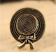 Metal Bow Hat Ring