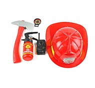 Fireman Cosplay Play House Toys Set