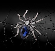 High Quality Spider Crystal And Rhinestone Brooch