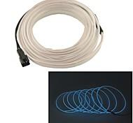 Car Auto 2m de long 7mm de diamètre souple el bande fils au néon de corde (12v)
