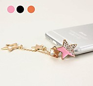 Star Pendant Style 3.5mm Anti-Dust Plug for iPhone 5 and Other (Assorted Color)