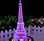 de color torre de hierro de cambiar la lámpara noche light
