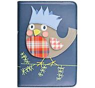 Krone Eulen-Muster PU-Leder Ganzkörper-Case für Apple iPad mini 3, ipad mini 2, ipad mini