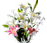 PU Lilies Artificial Flowers