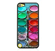 Watercolor Leather Vein Pattern Hard Case for iPod touch 5