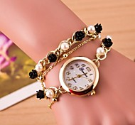 Women's Circular Rose Quartz Hand Catenary Watch Cool Watches Unique Watches