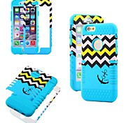 3 in1 Hybrid High Impact Hard Silicone Case for iPhone 6 (Assorted Color)