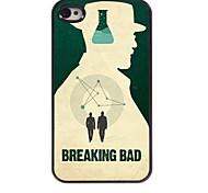 rottura brutto caso duro in alluminio per iPhone 4 / 4S