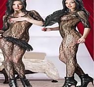 une seule pièce des femmes voir à travers les vêtements de nuit uniforme sexy