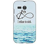 I Refuse to Sink Design Hard Case for Motorola MOTO G