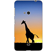 Giraffe Design Hard Case for Nokia N625