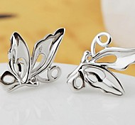 Earring Wings/Feather Jewelry Wedding / Party / Daily Sterling Silver Silver