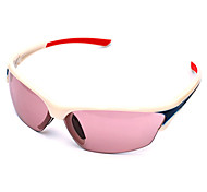 [Free Replacement Lenses] Cycling Anti-Wind PC Rectangle Fashion Sports Glasses