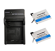 ismartdigi 401 x2 câmera 1160mah bateria + carregador para GoPro 4 câmera ahdbt 401