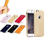Exclusive Design Good Quality Leather Thick Shockproof Soft Case Back Cover for iPhone 6 (Assorted Color)