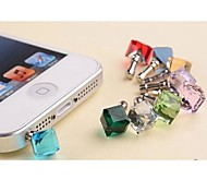 Water Cube Anti-dust Earphone Jack for iPhone/iPad and Others(Random Color)