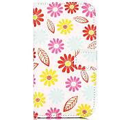 hübschen Blumen-Muster-Mappen-Art stehen Kreuz Textur-PU-Leder Tasche für HTC Desire 500