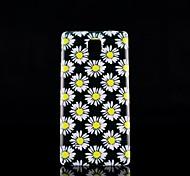 Para Samsung Galaxy Note Diseños Funda Cubierta Trasera Funda Flor Policarbonato Samsung Note 4