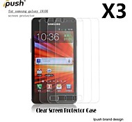High Transparency Matte LCD Screen Protector for Samsung S2 I9100 (3 Pieces)
