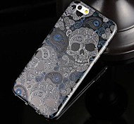 Skulls Pattern TPU Soft Case for iPhone 6/6S