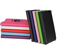 8 pulgadas de 360 grados lichee rotación caso del soporte del patrón para sony xperia tablet z3 compactos (colores surtidos)