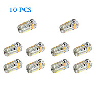 10 stuks G4 4W 72 SMD 3014 360 LM Warm wit / Koel wit 2-pins LED-lampen DC 12 / AC 12 / AC 24 / DC 24 V