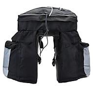 alforjas para bicicletas oeste biking®cycling paquete estante bolsa trasera con cubierta para la lluvia