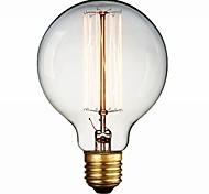 industria incandescente 600lm cálida retro estilo e27 60w blanco linterna (220v-240v)