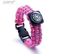 Survival Bracelet Survival Hiking Nylon Other - Lureme