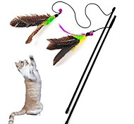 Lovely  Bird Shaped Playing Stick for Pet Cats