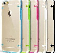 Ultra Transparent Glow in Dark Case for iPhone 6 Plus (Assorted Colors)