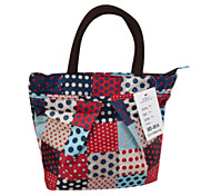 Scrambled Pattern Cosmetic Bag