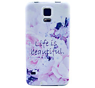 The Good Life Pattern Soft Case for Sumsang Galaxy S5Mini