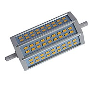 R7S 12W 54 SMD 5730 1100-1150 LM Warm White / Cool White T Dimmable LED Corn Lights AC 85-265 V