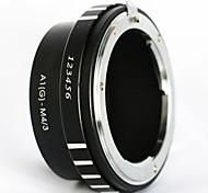 Montura Nikon F g af-s lente af a micro 4/3 adaptador m43 e-PL6 E-M1 om-d GH4 GF6
