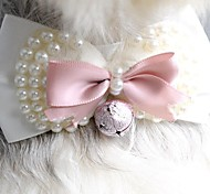 Cat / Dog Hair Accessories / Hair Bow / Tie/Bow Tie Pink Dog Clothes Spring/Fall Wedding / Cosplay