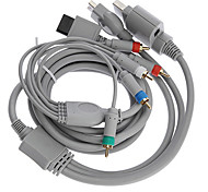 1,8 5.904ft 4 in 1 HDMI-Kabel ganz Konsole Komponente Audio-Video-Kabel für wii xbox360 ps2 ps3