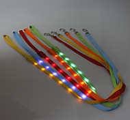 LED High Quality  Nylon Flash Pet Leashes for Dogs