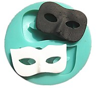 Dance Masks Fondant Cake Molds Soap Chocolate Mould For The Kitchen Baking Decoration Tool SM-295