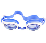 Swimming Kids' Anti-Fog Plastic Oval Classic Goggles