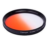 TIANYA 52mm Circular Graduated Orange Filter for Nikon D5200 D3100 D5100 D3200 18-55mm Lens
