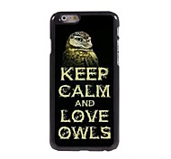 Keep Calm and Love Owes Design  Aluminum Case for iPhone 6