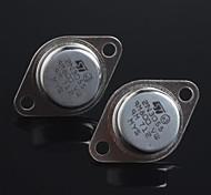 sello de oro transistor NPN 2N3055 a-3 (2 unidades)