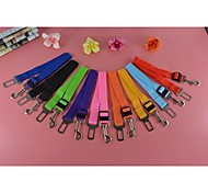 9 Colors Nylon Car Safe Soft Leashes Lead for Dogs and Pets (Assorted colors)