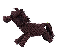 Horse Shape Rope Textile Chew Toys For Dog