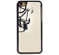 caso duro de la bicicleta de diseño de aluminio para 5c iphone